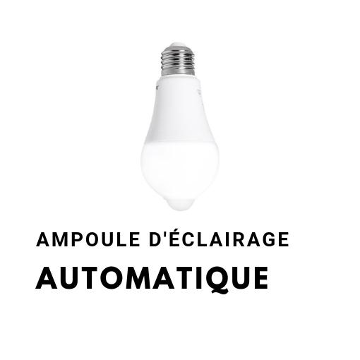 Ampoule eclairage automatique