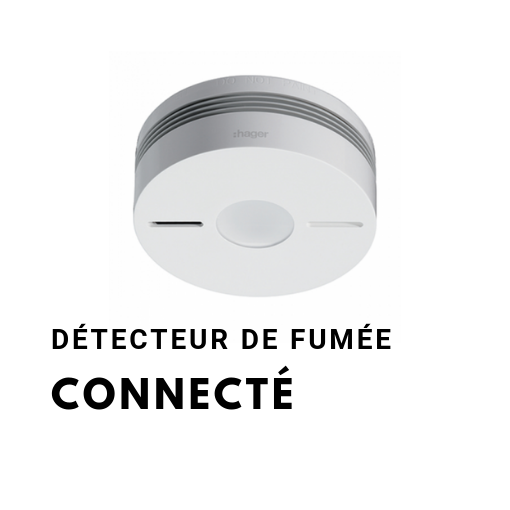 Détecteur de fumée connecté